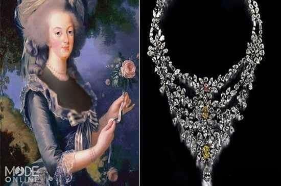 گردنبند ماری آنتوانت (Marie Antoinette)