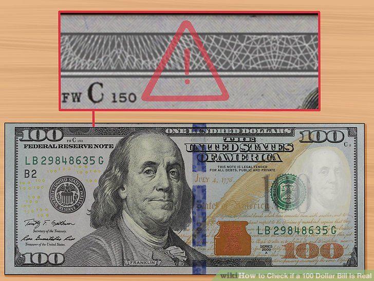 دلار اصلی و تقلبی