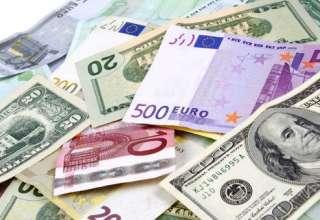 افزایش قیمت دلار/ کاهش قیمت یورو
