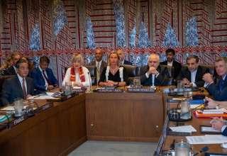 پایان نشست فوقالعاده وزیران خارجه ایران و ۱+۴