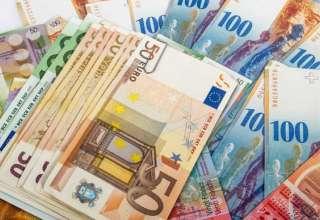 افزایش نرخ رسمی یورو، کاهش نرخ پوند /دلار کف کانال یازده هزار تومان