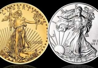 قیمت طلا و نقره در سال 2020 نیز افزایش یافت