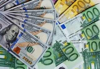دلار و یورو گران شد/نرخ ارزهای رسمی در ۲۵ دی ۹۸