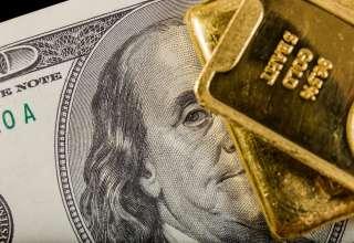 قیمت جهانی طلا امروز ۹۸/۱۱/۲۲/ طلا از صعود سهام و دلار جا ماند