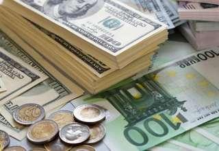 دلار 100 تومان گران شد/نرخ یورو و پوند بانکی گران شد
