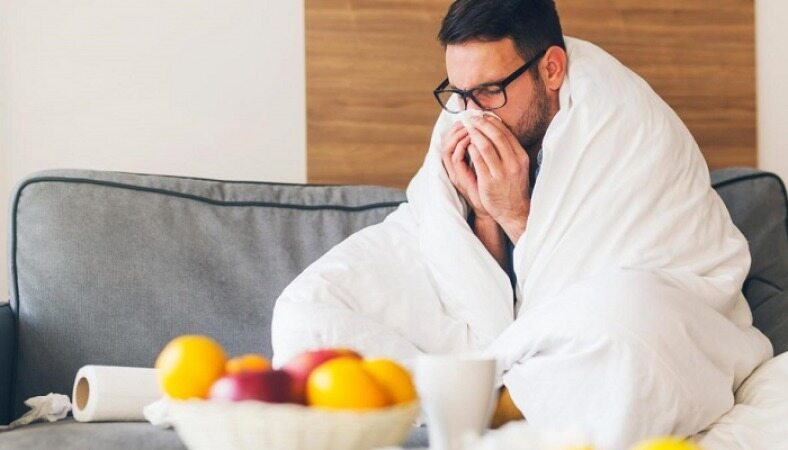 بخور نخورهای تغذیهای مبتلایان به آنفلوانزا