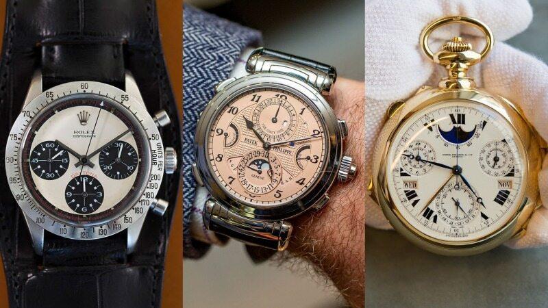 با گران ترین ساعتهای جهان آشنا شوید