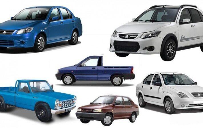 الاکلنگ قیمت خودروهای سایپا