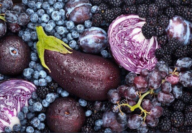 معجزه میوهها و سبزیجات بنفش برای سلامتی/گیاهی که به پوست شما درخشش طبیعی میبخشد