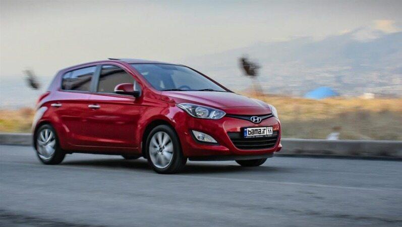 قیمت خودرو هیوندای دست دوم در بازار چند است؟