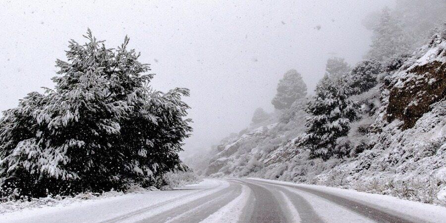 هشدار بارش شدید برف و باران/امشب کدام جادهها برفی میشود؟