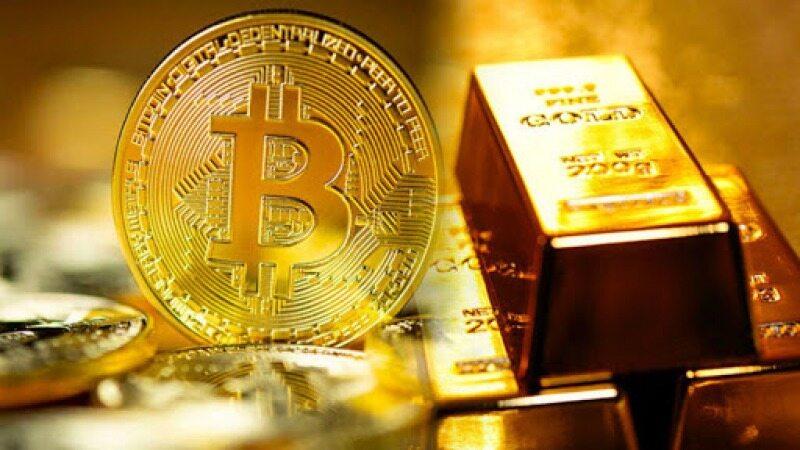 طلا و بیت کوین