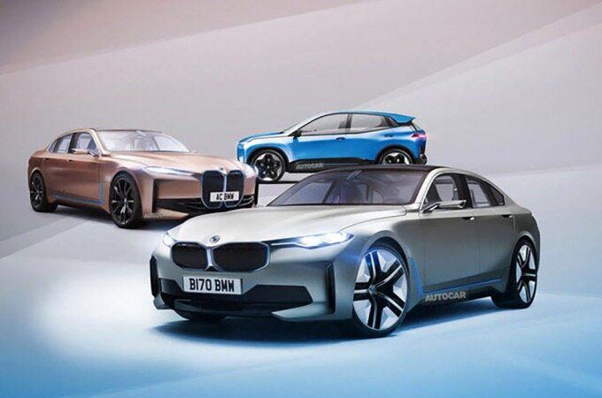 تصاحب بازار خودروهای الکتریکی توسط بی ام و