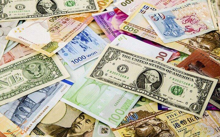اولین واکنش دلار به پایان تحریم تسلیحاتی در صرافی ملی /کاهش نرخ رسمی ۲۲ ارز